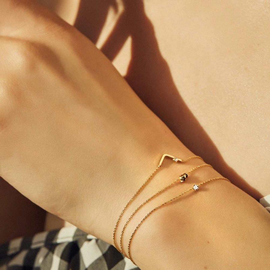 bracelet light strass