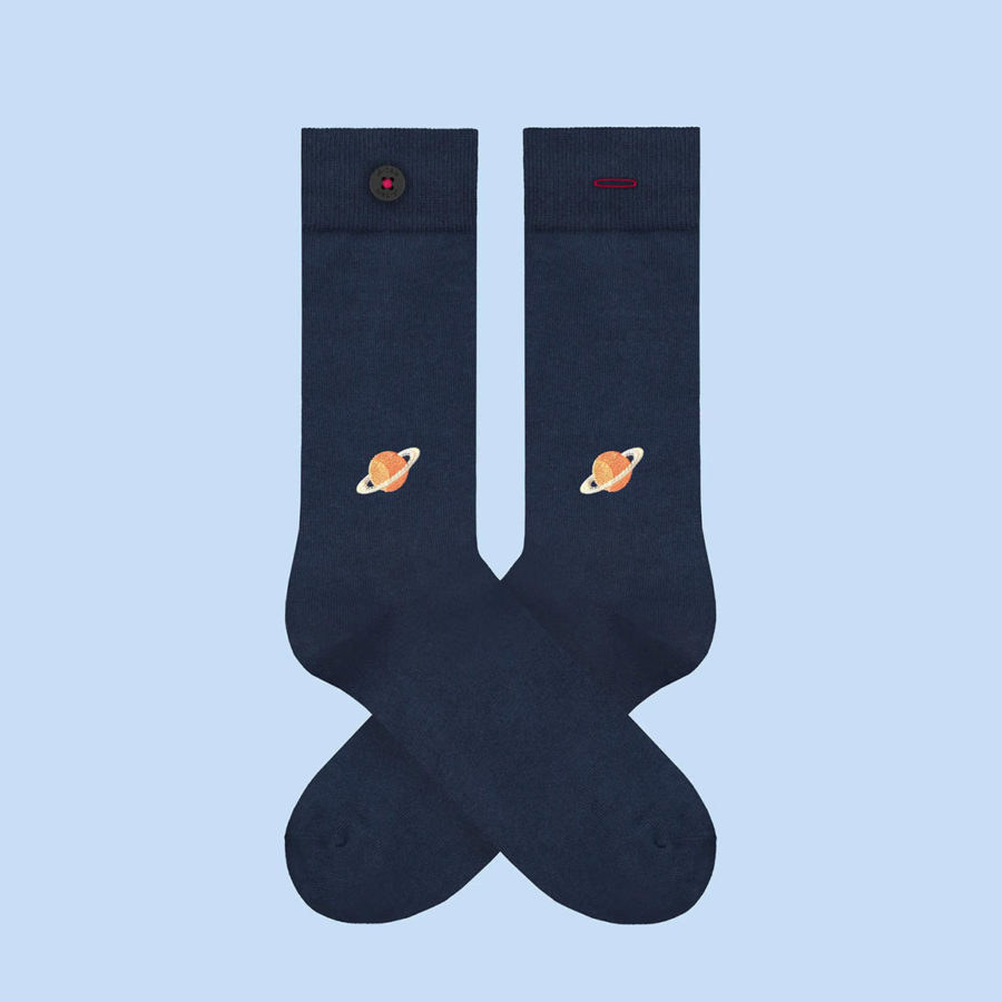 chaussettes homme brodees adam