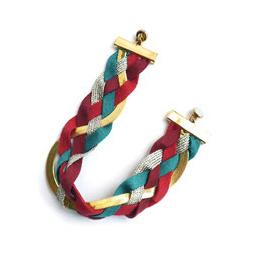 bracelet createur tresse