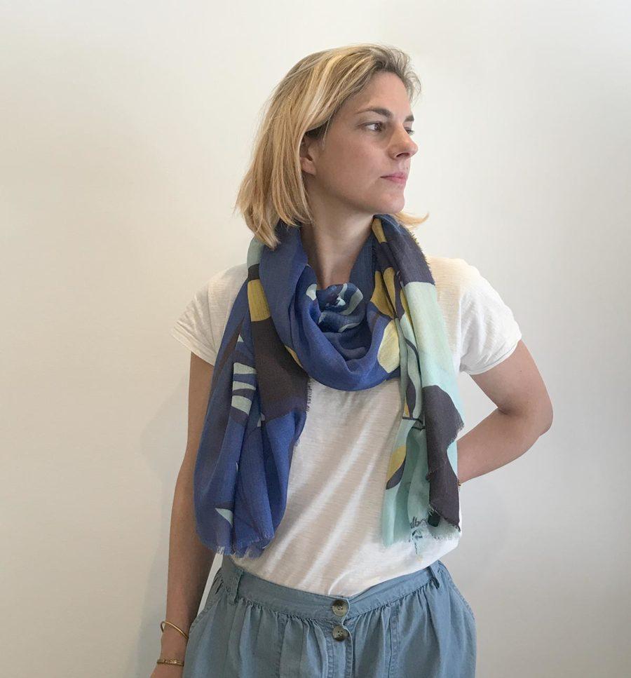 foulard createur francais