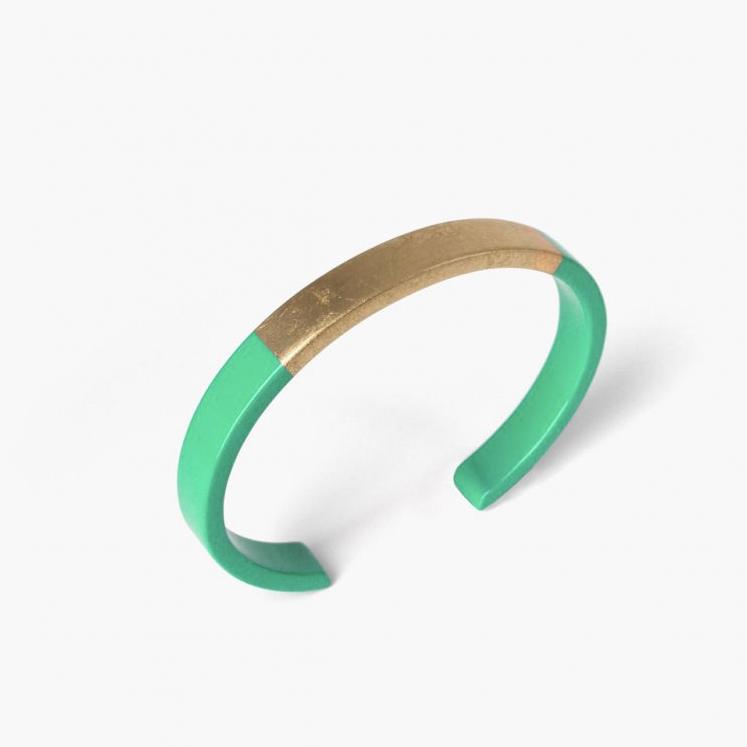 bracelet vert laque