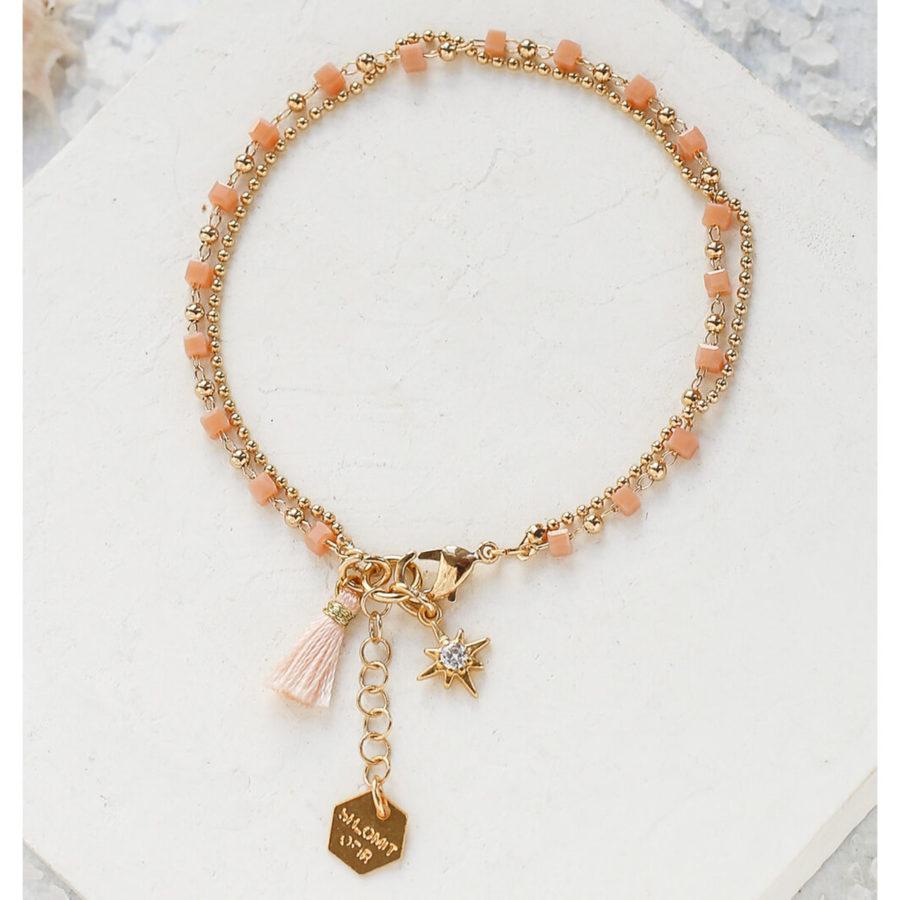 Bracelet MYTHOS rose Shlomit Ofir