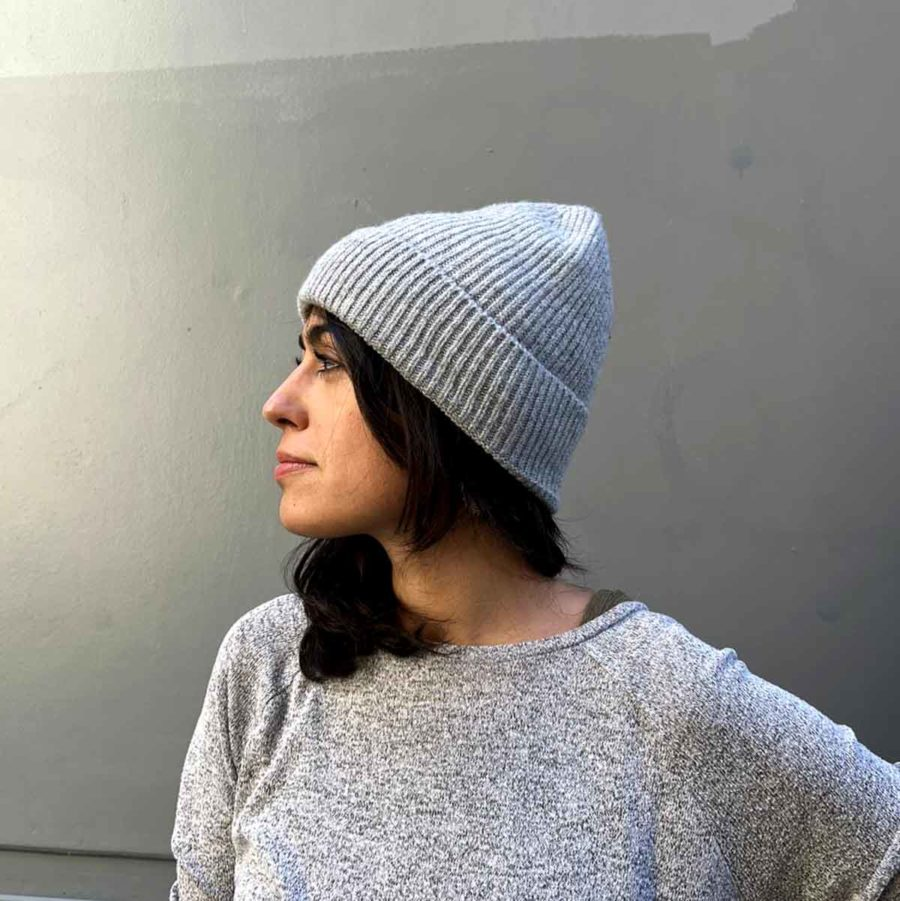 Bonnet DEBBIE Light grey PIECES